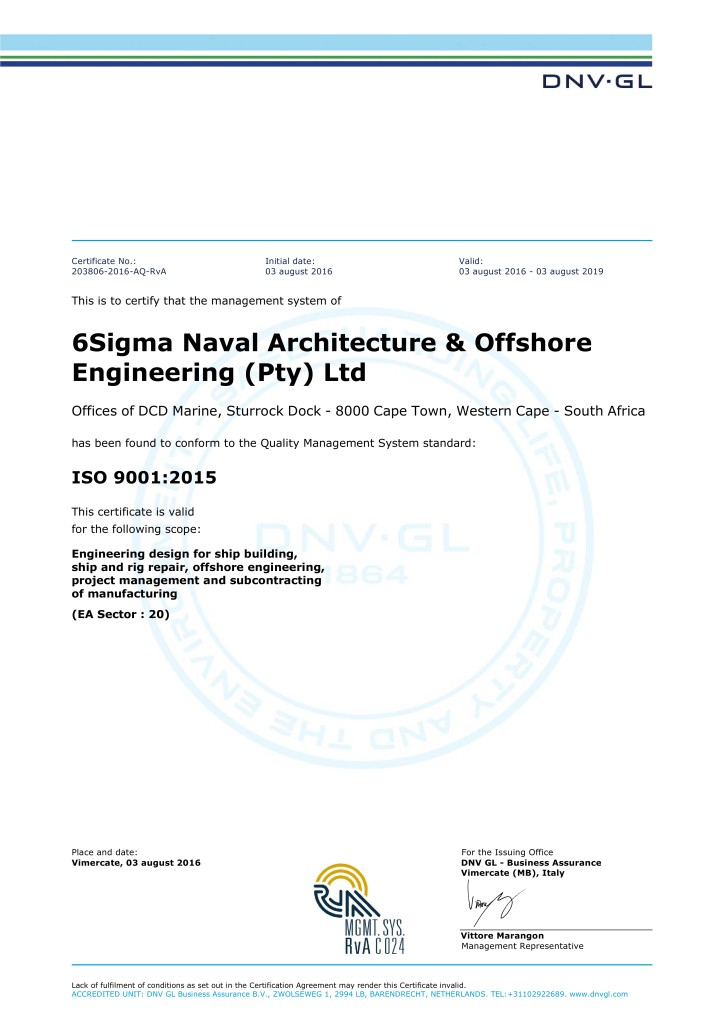 CERTIFICATO_-_6Sigma_Naval_Architecture_&_Offshore_Engineering_(Pty)_Ltd_-_ISO9001_-_2016-08-04_1-2NLMWCJ_CC